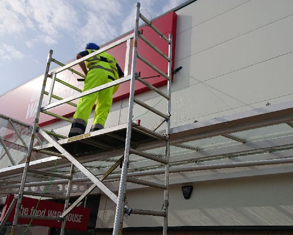 cladding cleaning in ayr
