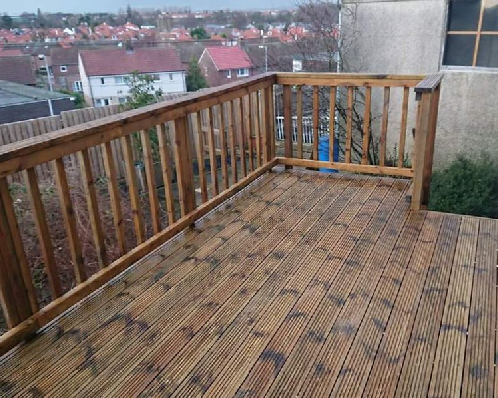 decking cleaning ayr
