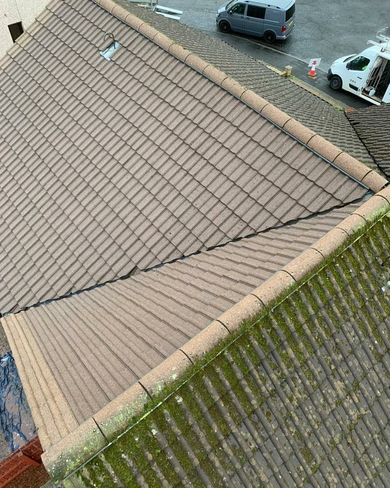 Roof Cleaning Glasgow