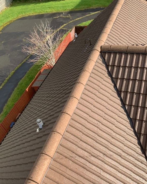 Glasgow roof cleaning