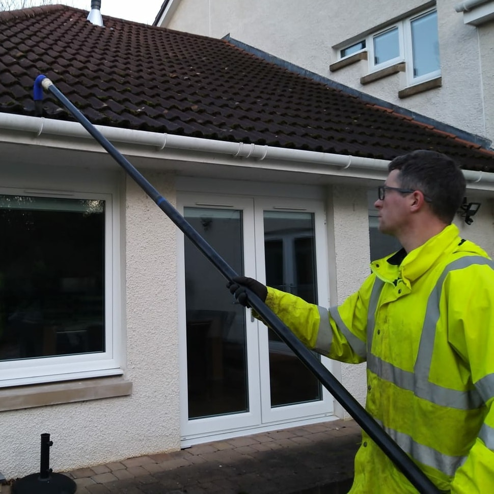 gutter cleaning in ayr